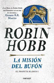 """Novela de fantasía y magia: """"La misión del bufón"""" de Robin Hobb"""