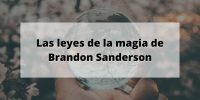Las leyes de la magia de Brandon Sanderson